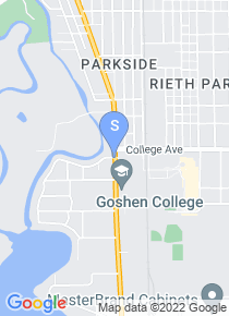 Goshen College map