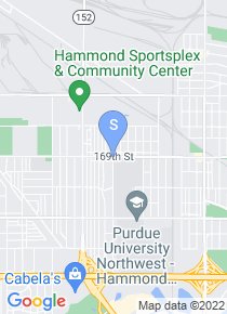 Purdue University Calumet map