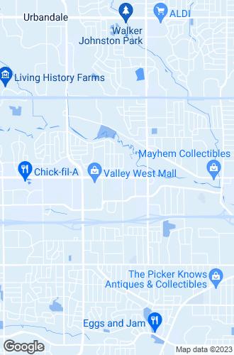 Map of West Des Moines