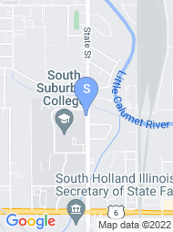 South Suburban College map