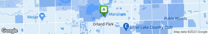 Map of Granite City