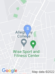 Allegheny College map