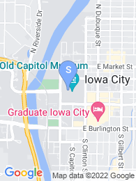 University of Iowa map