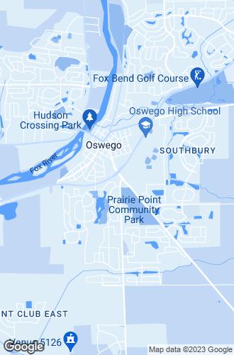 Map of Oswego