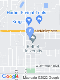 Bethel College map
