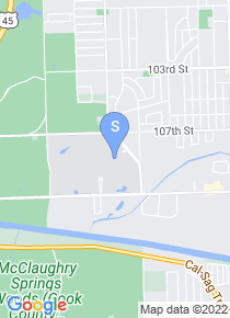 Moraine Valley Community College map