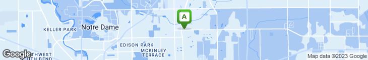 Map of Honkers Restaurant