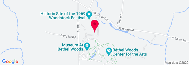 Map for Bethel Woods Center For The Arts