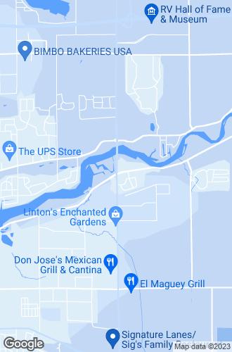 Map of Elkhart