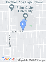 Saint Xavier University map