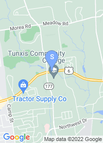 Tunxis Community College map