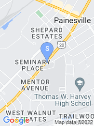 Lake Erie College map