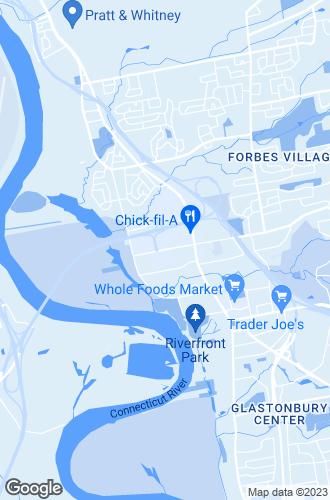 Map of Glastonbury