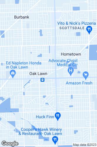 Map of Oak Lawn