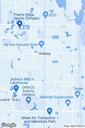 Map of Ankeny