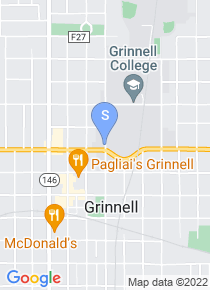 Grinnell College map