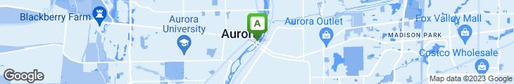 Map of Fairbanks Steakhouse @ Hollywood Casino-Aurora