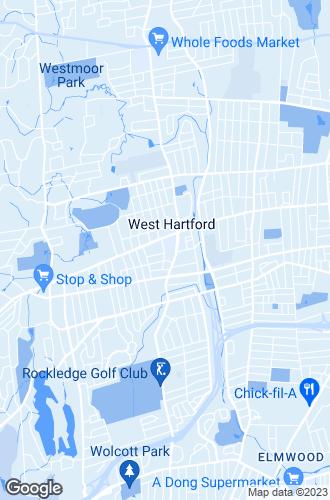 Map of West Hartford