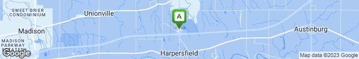 Map of Best Friend's Restaurant