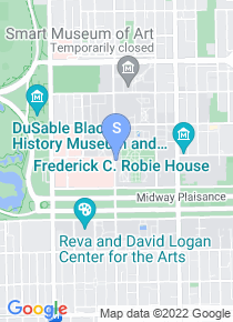 University of Chicago map
