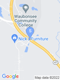 Waubonsee Community College map
