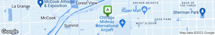 Map of KFC - Kentucky Fried Chicken