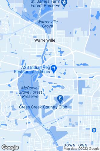 Map of Warrenville