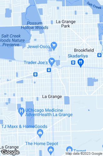 Map of La Grange