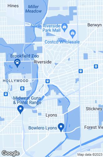 Map of Riverside