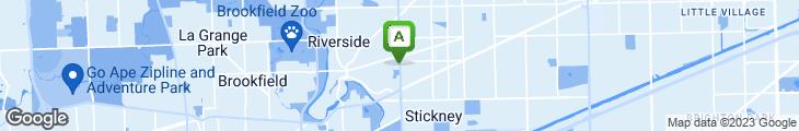 Map of Riverside Family Restaurant