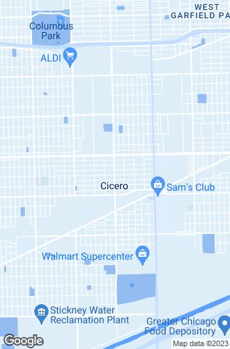Map of Cicero
