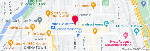 Map for Reggie's Music Joint