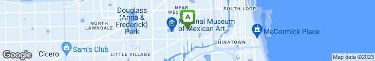 Map of Azteca