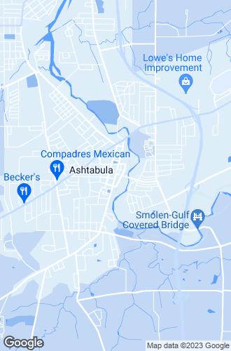 Map of Ashtabula