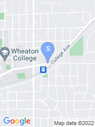 Wheaton College map