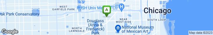 Map of Western Ave Shrimp House