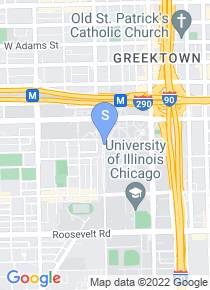 University of Illinois Chicago map