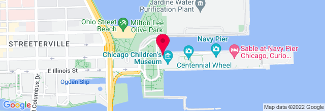Map for Navy Pier, Grand Ballroom