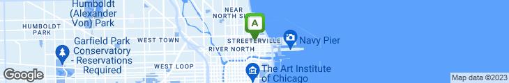 Map of Corner Bakery Cafe