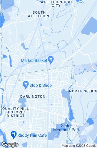 Map of Pawtucket