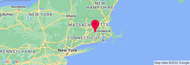 Map of Pomfret, CT, US