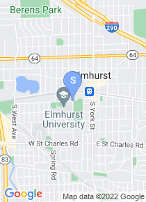 Elmhurst College map