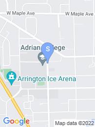 Adrian College map