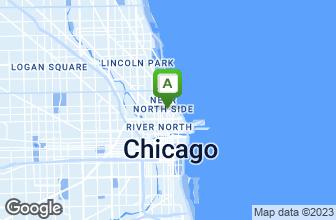 Map of Hugo's Frog Bar & Fish House