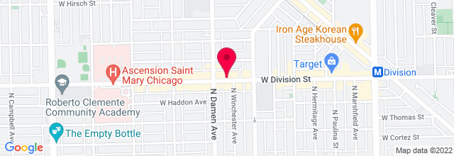 Map for Jerry's Sandwiches