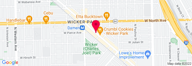 Map for Reckless Records