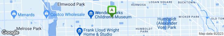 Map of Hoagie Steak & Sub