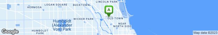 Map of Landmark Grill & Lounge