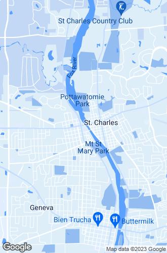 Map of Saint Charles