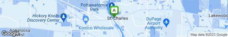 Map of Thirsty Fox Pub